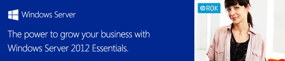 The power to grow your business with Windows Server 2012 Essentials.